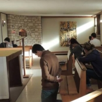 A oração no Instituto Nossa Senhora da Vida